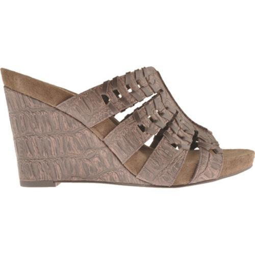 Women's Antia Shoes Giselle Mocha Croco/Soft Calf