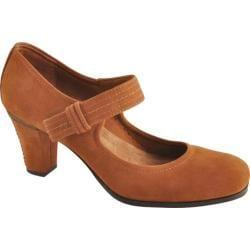 Women's Antia Shoes Maribel Cognac Calf Tumbled Nubuck