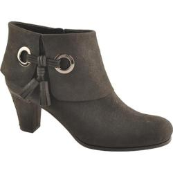 Women's Antia Shoes Marisa Black Calf Tumbled Nubuck