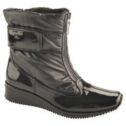 Women's Antia Shoes Nikita Black Patent/Nylon