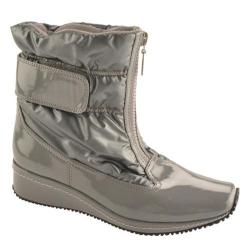 Women's Antia Shoes Nikita Dark Grey Patent/Nylon