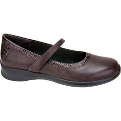 Women's Apex Julia Brown Pebbled Leather