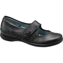 Women's Apex Lucy Button Black Leather