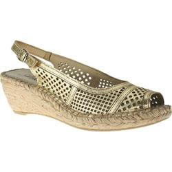 Women's Azura Hampton Soft Gold Leather