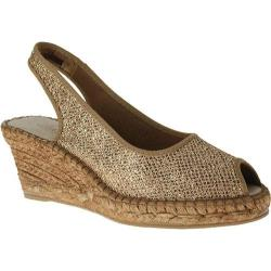 Women's Azura Jaffa Soft Gold Textile