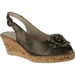 Women's Azura Jerianna Pewter Leather