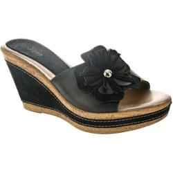 Women's Azura Narcisse Black Leather