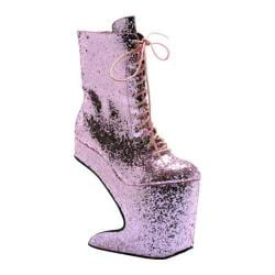 Women's Bettie Page Chablis Pink Glitter