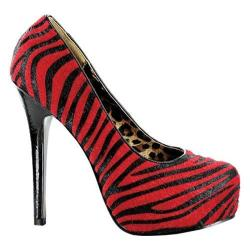 Women's Bettie Page Gabor Red/Black