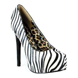 Women's Bettie Page Gabor Zebra