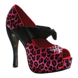 Women's Bettie Page Logan Pink Leopard
