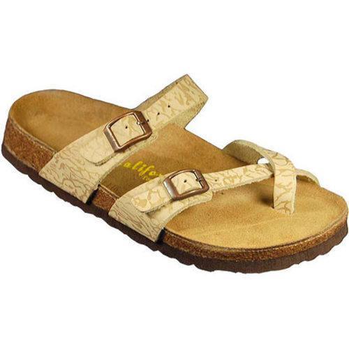 Women's California Footwear Co. Monterey Jungle Sand Nubuck
