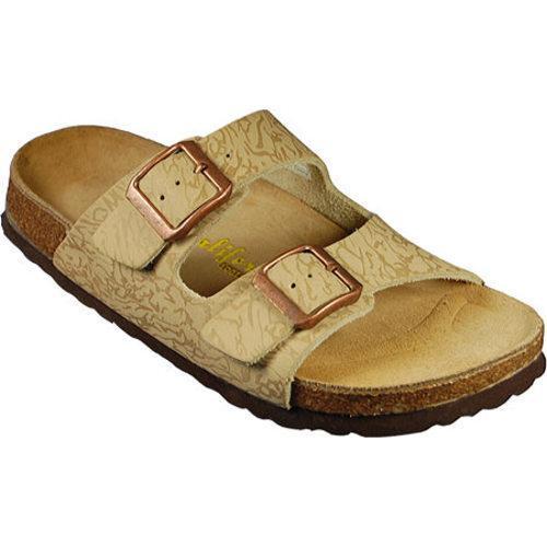 Women's California Footwear Co. Santa Cruz Jungle Sand Nubuck