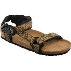 Women's California Footwear Co. Yosemite Brown Nylon