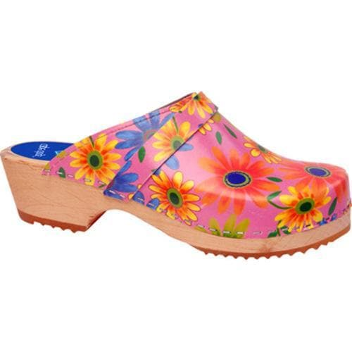 Cape Clogs Flower Power Pink/Multi
