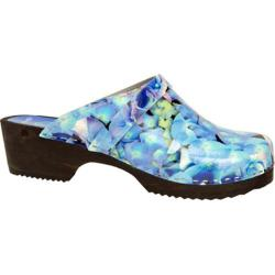 Cape Clogs Hydreangea Blue/Multi