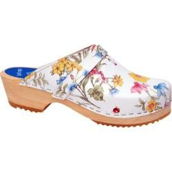 Cape Clogs Spring Bouquet White/Multi