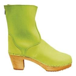 Women's Cape Clogs Vasa Lime Leather