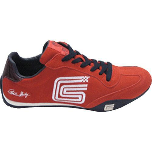 Men's Carroll Shelby CS007 Red Cow Suede