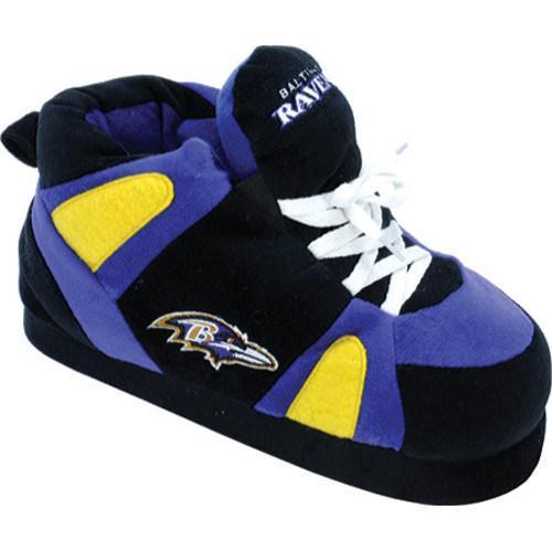 Men's Comfy Feet Baltimore Ravens 01 Black/Purple