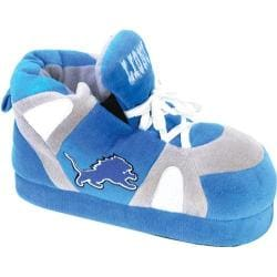 Men's Comfy Feet Detroit Lions 01 Blue/Silver