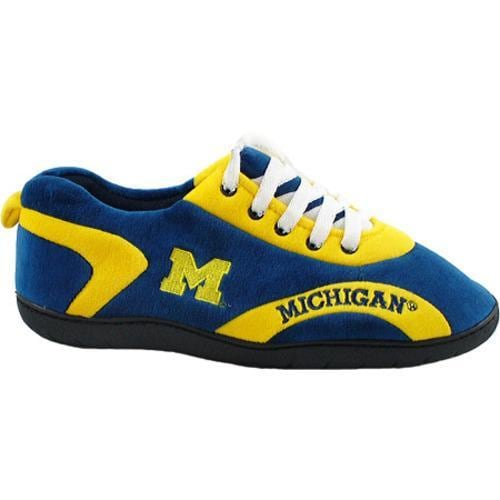 Comfy Feet Michigan Wolverines 05 Blue/Yellow/White