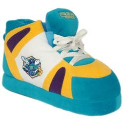 Comfy Feet New Orleans Hornets 01 Teal/Yellow/White