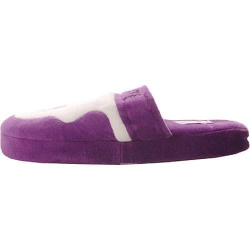 Comfy Feet Northwestern Wildcats 02 Purple/White