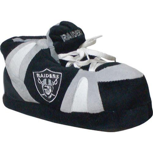 Men's Comfy Feet Oakland Raiders 01 Silver/Black