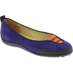 Women's dimmi Learn Purple Leather