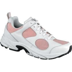 Women's Drew Flash White Leather/Pink Mesh