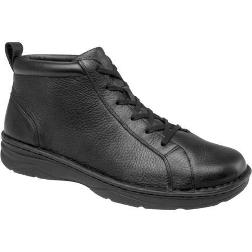 Men's Drew Hilliard Black Pebbled Leather