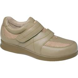 Women's Drew Trenda Taupe Leather/Mesh