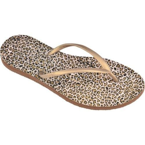 Women's Dupe Exotica (2 Pairs) Caramel/Leopard