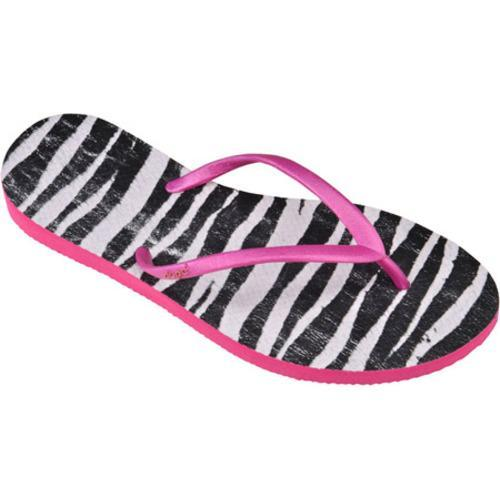 Women's Dupe Exotica (2 Pairs) Pink/Zebra