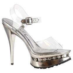 Women's Ellie Brook-527 Clear Plastic