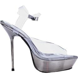 Women's Ellie Brook-567 Clear/Metallic Plastic