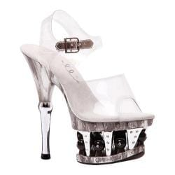 Women's Ellie Brook-629 Clear Plastic