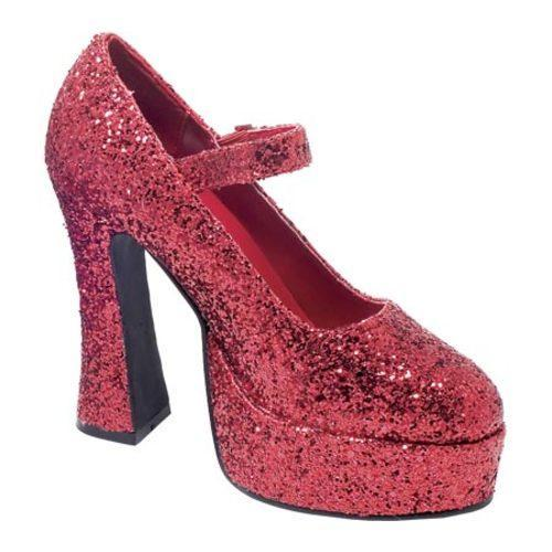Women's Ellie Eden-G-557 Red Glitter