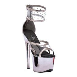 Women's Ellie Enya-709 Pewter/Clear Plastic