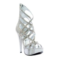 Women's Ellie Julia Silver Velvet