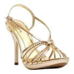 Women's Ellie Knot-431 Gold PU
