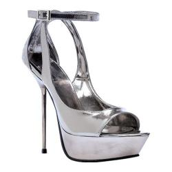 Women's Ellie Loren-567 Pewter PU