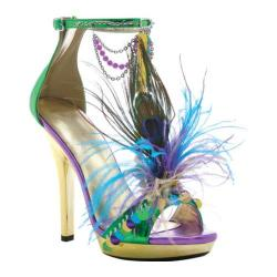 Women's Ellie M-Mardigras Green
