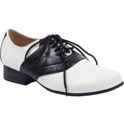 Women's Ellie Saddle-105 Black/White