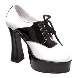 Women's Ellie Saddle-557 Black/White