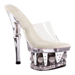 Women's Ellie Vanity-629 Clear Plastic