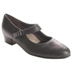 Women's FootThrills Tasha Black Leather