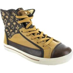 Women's Gotta Flurt Glamour Brown/Gold Canvas