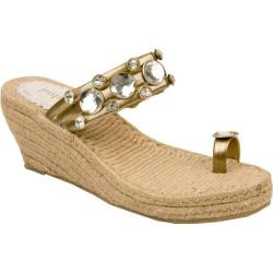 Women's Holster Princess Espadrille Bronze